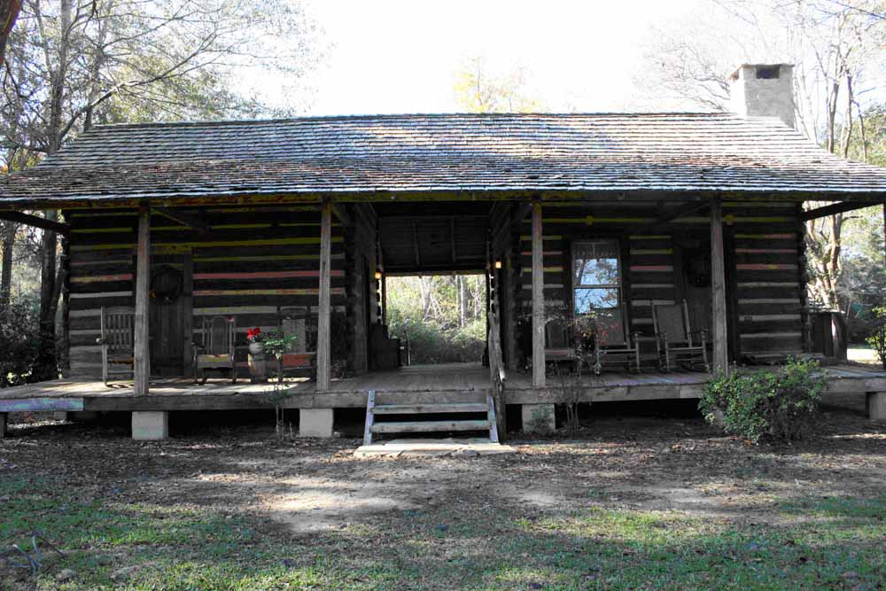 National register 2010 part 2 preservation in mississippi Log cabin for two