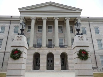 William Nichols' Old Capitol (1836-1839)
