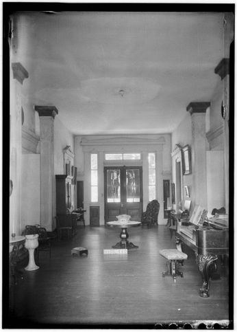 Historic American Buildings Survey (HABS) James Butters, Photographer June 26, 1936 GENERAL VIEW HALL (LOOKING SOUTH)