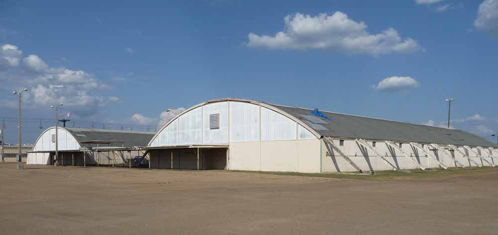 Agriculture and Industry Buildings, Mississippi State Fairgrounds, Jackson. Demolished Spring 2011.