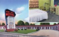 NO-EL MOTEL. U.S. Highway 72 . . . 1 Mile East of City Limits, CORINTH, MISSISSIPPI. Reservations suggested . . . Telephone 6695. Tiled Baths . . . Air Conditioned . . . Hot Air Heated. Mr. and Mrs. M.L. Hampton, Owners and Operators.