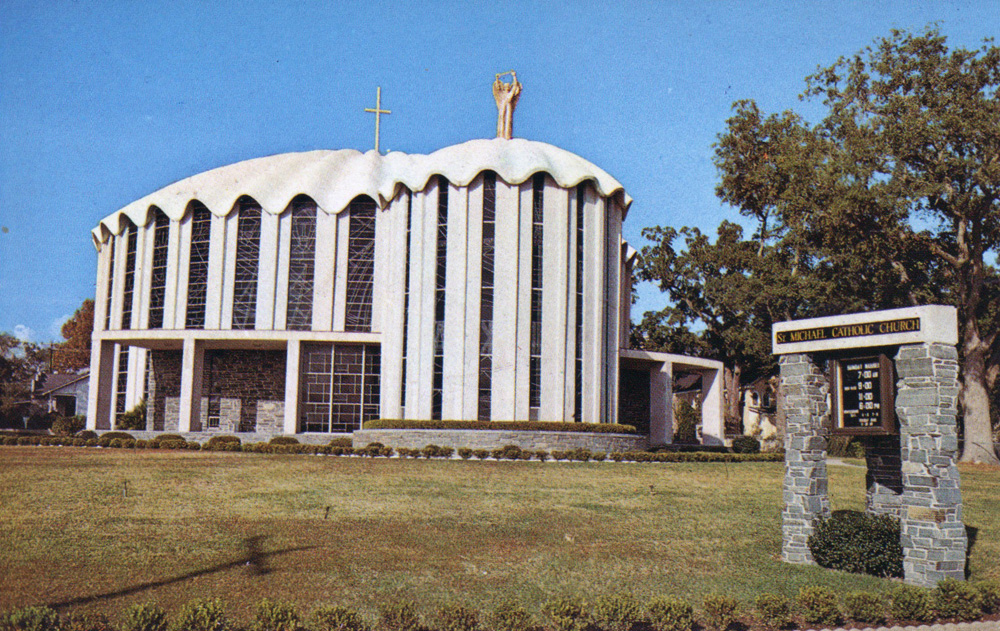 Going Inside St Michael S Church Biloxi Preservation