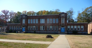 Port Gibson High School (1924)--reminds me of the late lamented Inverness High School, designed by N.W. Overstreet