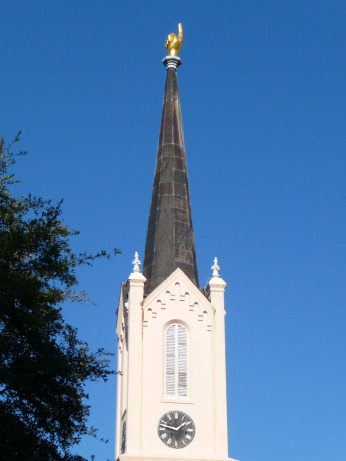 First Presbyterian Church (1859-60)--the famous hand pointing to heaven