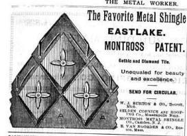c.1893 Diamond shingle
