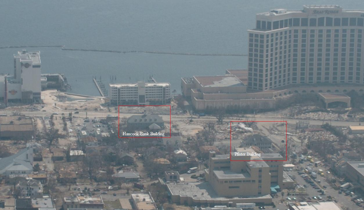 Biloxi S Blighted Banking Buildings Blowup Not Really But They Are Getting Demolished Preservation In Mississippi