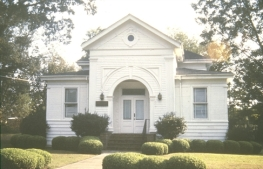 Temple Beth El, Lexington, Holmes County. Photo by MDAH, 1972. Retrieved 11/30/12 from Mississippi Historic Resources Inventory (HRI) Database.