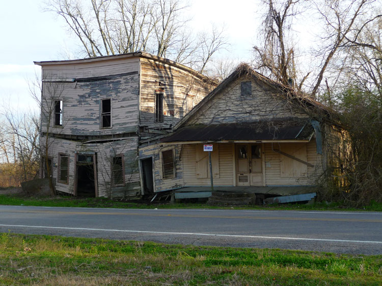 Abandoned Vaughan Mississippi Preservation In Mississippi