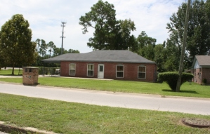 House on Russell Boulevard, Forest Heights Subdivision. Gulfport Miss. Image made by author 7-22-2012