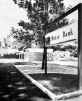 Motor Bank of Commercial National Bank, Greenville. M. L. Virden III, & Associates, Architect, Greenville