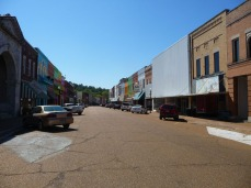 Main Street, Yazoo City. Every building in this picture was built in the few years after the 1904 fire.