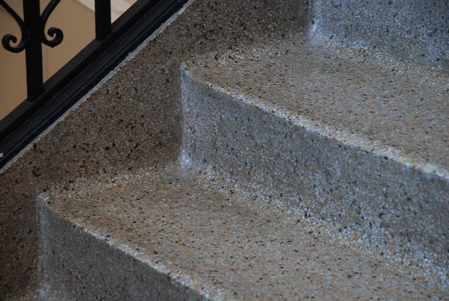 Detail Terrazzo Stair ...