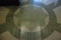 Terrazzo floor detail, U.S. Post Office and Courthouse [Eastland Federal Courthouse], Jackson, Hinds County.  Photo by Jennifer Baughn, MDAH, 8/11/2010. Retrieved 10/01/12 from Mississippi Historic Resources Inventory (HRI) Database.