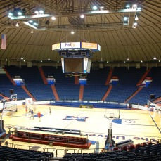 "C.M. ""Tad"" Smith Coliseum Oxford, Lafayette County. Photo by J Baughn, MDAH, 03/17/2009. Retrieved 11/01/12 from Mississippi Historic Resources Inventory (HRI) Database."