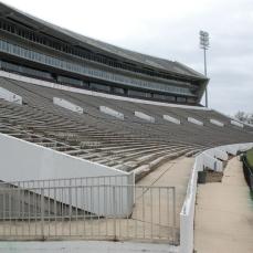 "Scott Field ""Davis-Wade Stadium"" Starkville, Oktibbeha County. Photo by J Baughn, MDAH, 03/15/2010. Retrieved 11/01/12 from Mississippi Historic Resources Inventory (HRI) Database."