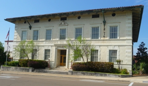 Standard Oil Company Building. Jackson Hinds County, Photo by Author
