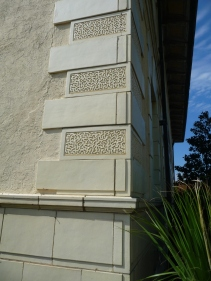 Vermiculated Quoins, Standart Oil Building. Jackson, Hinds County. Photo by Author