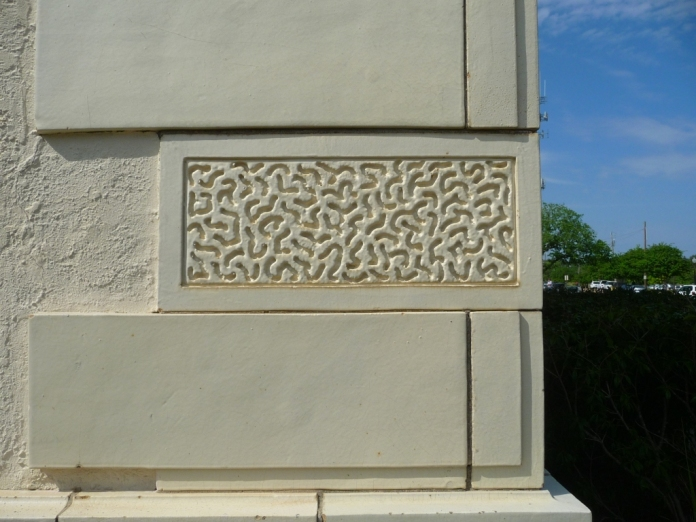 Vermiculated Terracotta Block Standard Oil Building. Jackson, Hinds County. Photo by Author