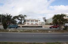 View of White Pillars Restaurant, South of Hwy 90. Biloxi, Ms. Nov. 2012