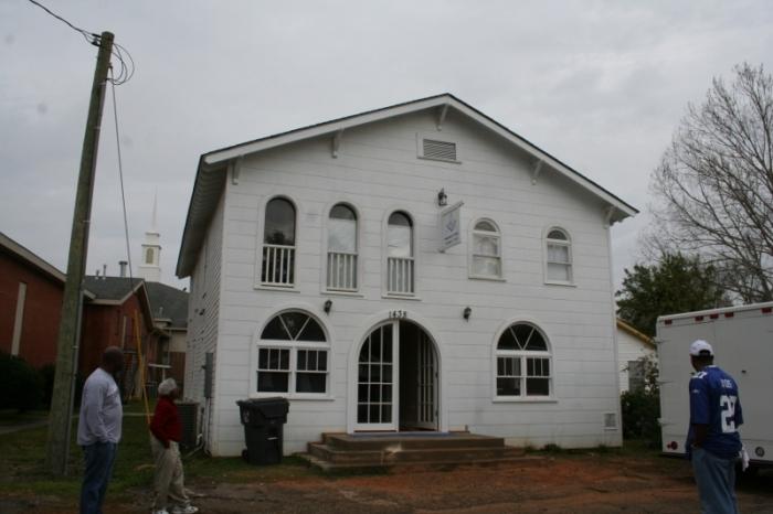 Soria City Lodge, No. 542, Gulfport. Designated Mississippi Landmark Sept. 7, 2012.
