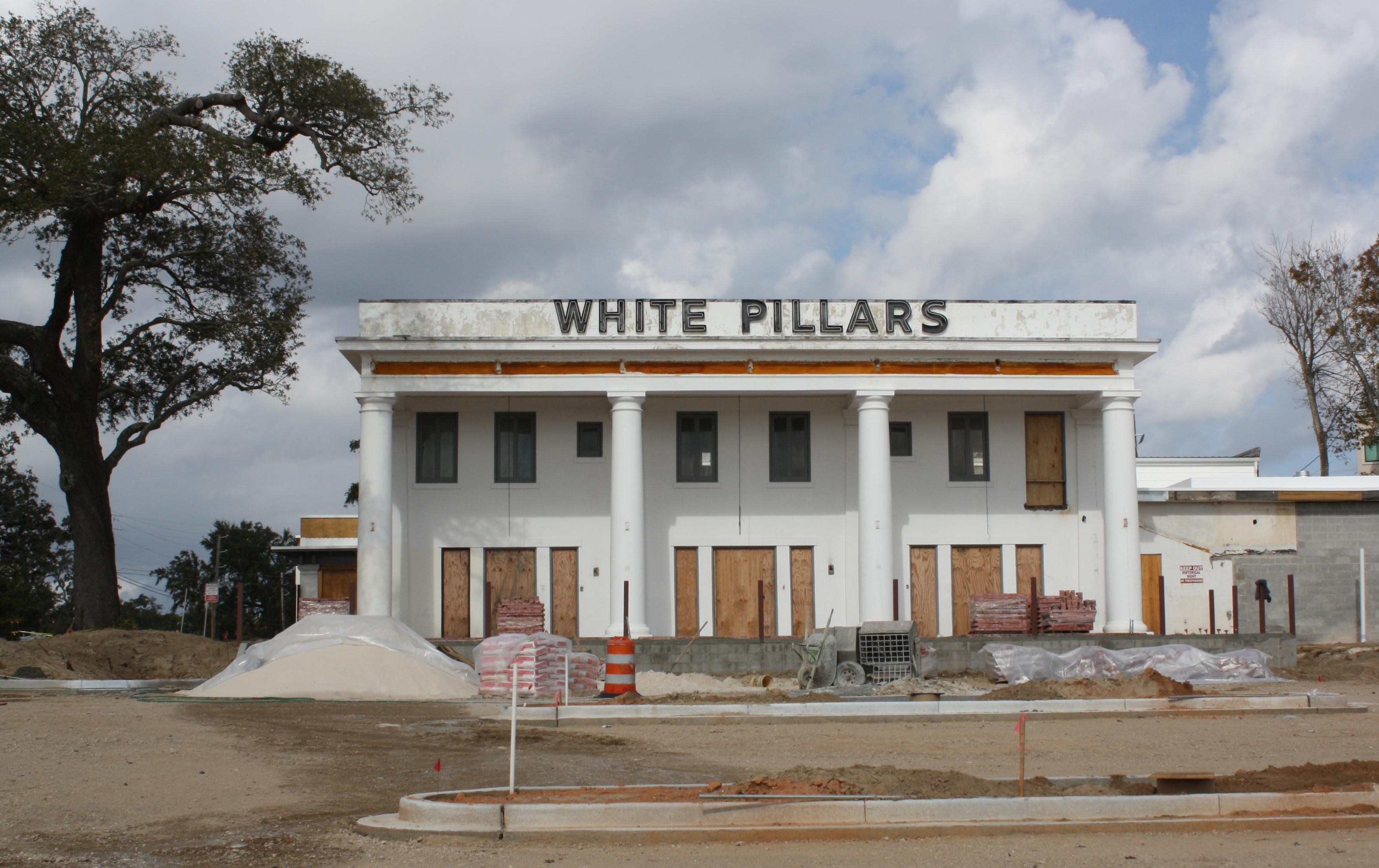 3 South Elevation White Pillars Restaurant Biloxi Ms Nov
