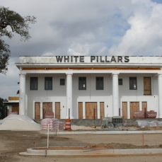 South Elevation, White Pillars Restaurant, Biloxi, MS Nov. 2012