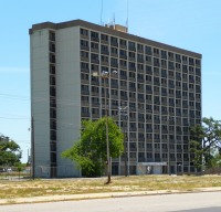 North West Elevation Santa Maria del Mar Apartments, Biloxi, MS. May 2011
