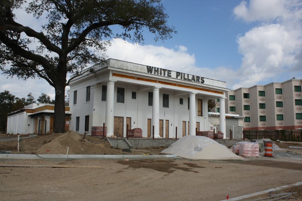 4 White Pillars Restaurant. Biloxi, MS. Nov. 2012