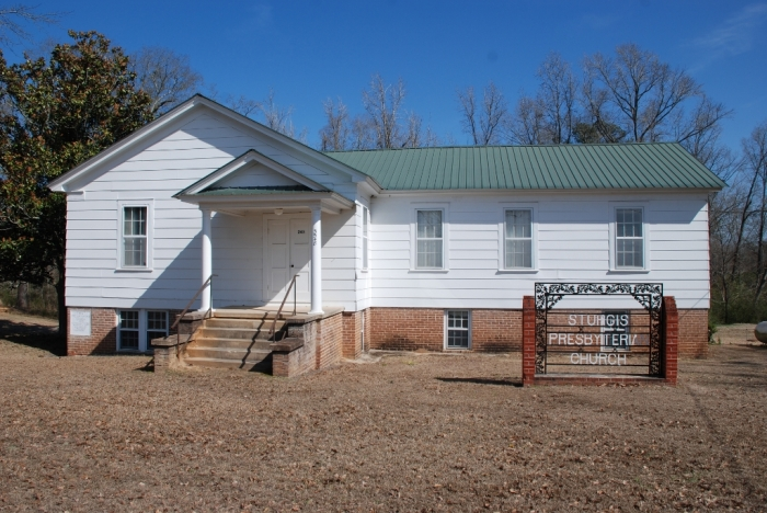 (old) Sturgis Presbyterian Church (1930). Designated Mississippi Landmark July 27, 2012.