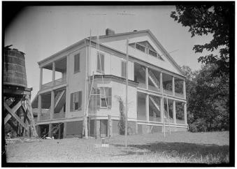 photo courtesy HABS, James Butters, Photographer August 26, 1936