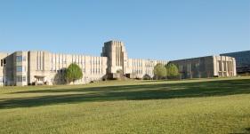 Bailey Junior High School, Jackson, Hinds County. Photo by J. Baughn, MDAH 03-17-2007 Retrieved from MDAH HRI database 2-20-13