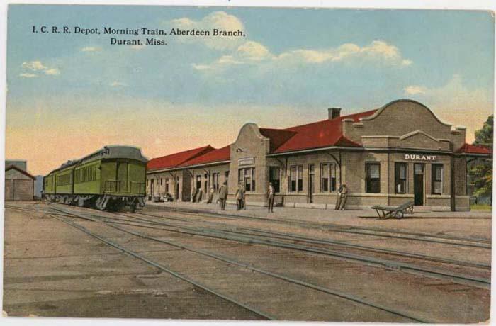 Durant Depot, c.1910 postcard