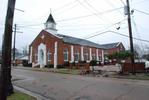 Mt. Carmel Baptist Church, Mobile Street (1953)