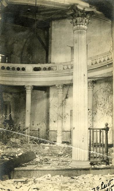 J.F. Laist, 1915. Senate chamber. Accession PI/STR/C36 /Box 20 Folder 95