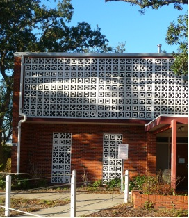 South Elevation Detail. The House of the Good Shepherd SVDP Office, Biloxi Harrison County. TRosell, MissPreservation.com02-02-13