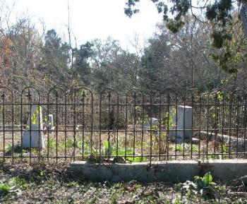 Leake family cemetery, courtesy Natalie Maynor, Find A Grave.