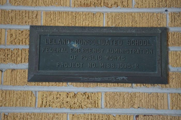 public works plaque
