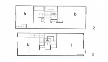 Fredella Apartment Floor Plan from XM 1 Fredella Village, Vicksburg Miss. by U.S. Department of Housing and Urban Developement