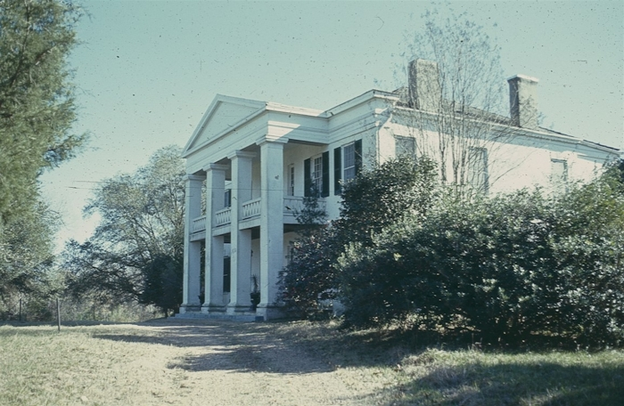 Photo courtesy MDAH Historic Preservation Division, scanned slide, 1972