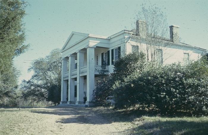 Photo courtesy MDAH Historic Preservation Division, scanned slide, 1972