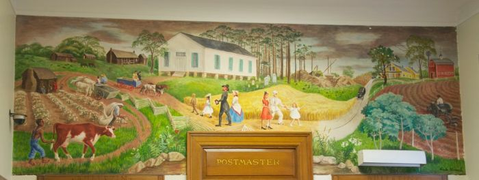 """""""Rural Mississippi--From Early Days to Present""""Image used with permission of United States Postal Service"""