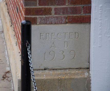 L H cornerstone 1939