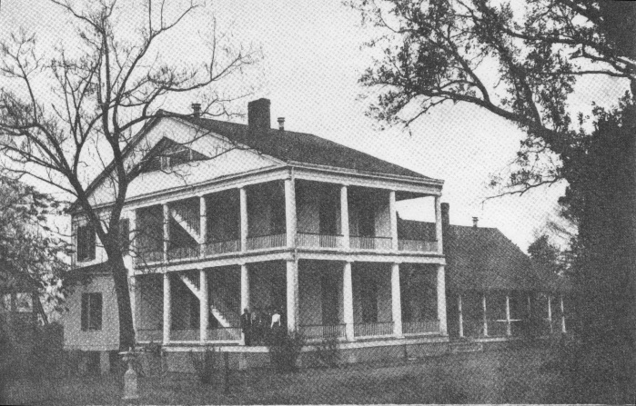 Deupree s historic homes of mississippi blakely for Home builders in south ms