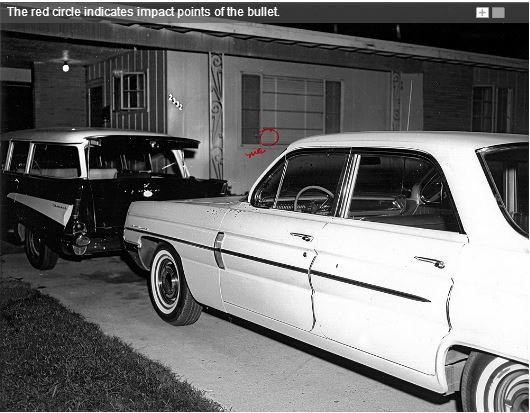 Medgar Evers House, June 12, 1963. Photo via A Tribute to Medgar Evers