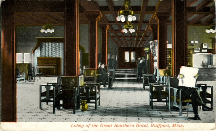 Lobby of the Great Southern Hotel