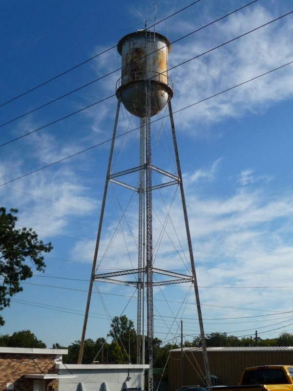 Flora Water Tower