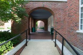 Arches and access ramp