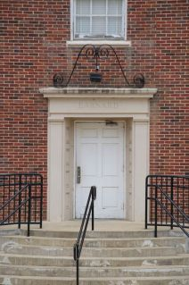 Barnard Hall front entry
