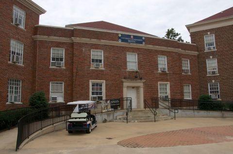 Barnard Hall front facade