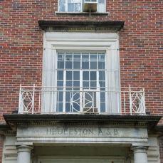 Hedleston second floor window